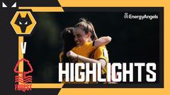 Wolves Women 1-0 Nottingham Forest Women | Highlights