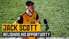 Jack Scott pleased with playing time and vows to continue improving!