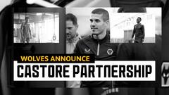 Wolves announce Castore kit partnership!