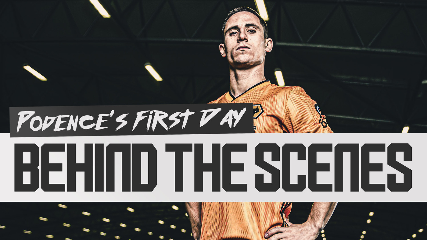 TRANSFER DIARY | BEHIND THE SCENES OF DANIEL PODENCE'S FIRST DAY AT WOLVES!