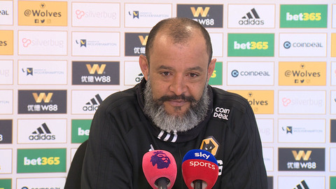 Nuno's pre-Bournemouth press conference