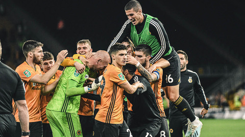 Wolves 1-1 Reading | Carabao Cup Highlights