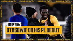 Owen Otasowie on his Premier League debut | Matchday Live Extra Interview