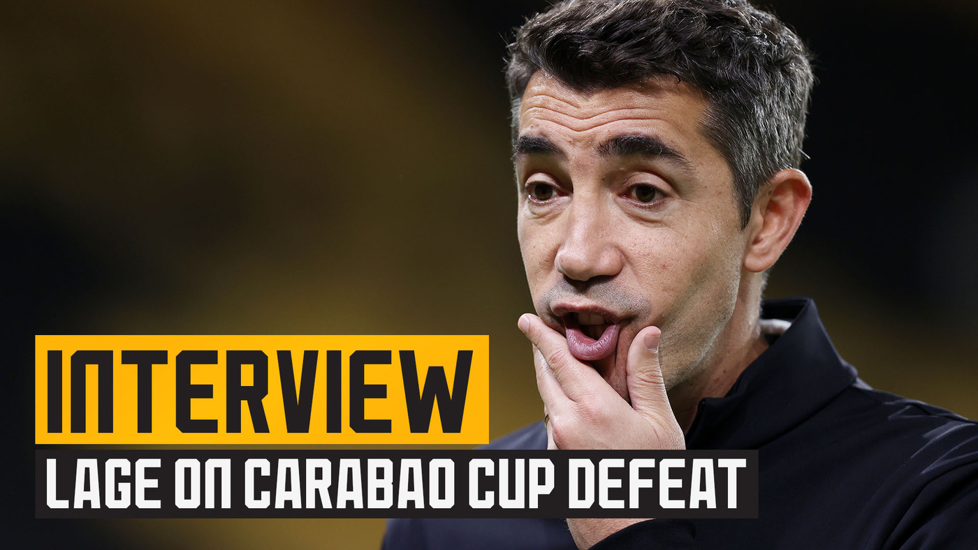 Lage assesses Carabao cup exit to Tottenham Hotspur