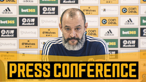 Nuno on Neto's bad luck, Vinagre's injury and trusting in youth | Pre-Southampton press conference