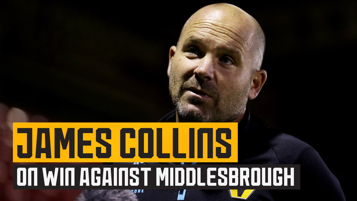 James Collins on impressive victory, working alongside Bruno Lage and his hopes for the new campaign!
