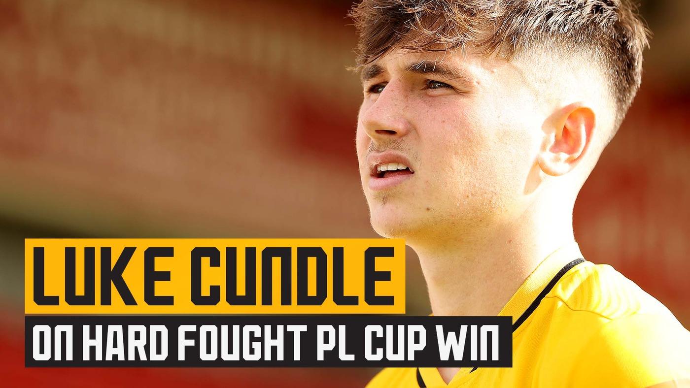 23's captain Cundle on PL Cup victory against West Ham