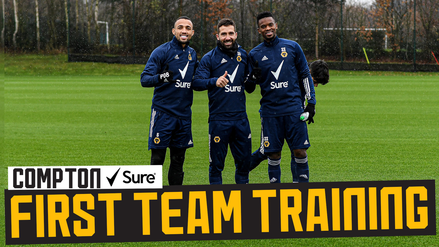 Saiss is back and quick finishing drills | Wolves train ahead of Liverpool