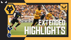Fans return to Molineux for narrow Spurs defeat | Wolves 0-1 Tottenham | Extended Highlights