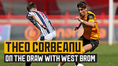 Corbeanu feels Wolves were unlucky against Black Country rivals