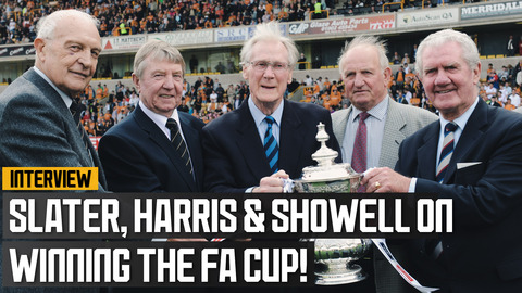 Slater, Harris & Showell give us their memories of the 1960 FA Cup win