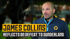Collins assesses the defeat to Sunderland