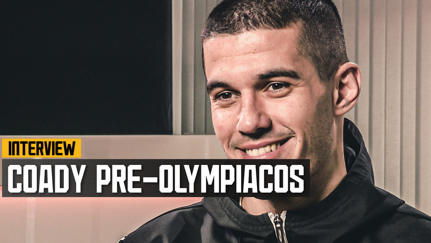 Conor Coady on Olympiacos preparations, fan safety and Europa League progression