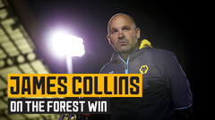 Collins on victory over Nottingham Forest