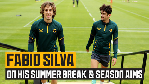 Silva refreshed after his summer break and ready to go!