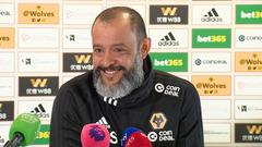 Nuno's pre-Burnley press conference