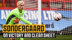 Impressive Sondergaard on Fulham win and clean sheet