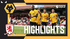 SAMUELS BRACE SEALS OPENING WIN! | Wolves 2-1 Middlesbrough | PL2 Highlights