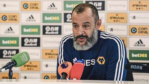 Nuno's pre-Southampton press conference