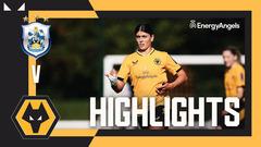 Huddersfield Ladies 2-3 Wolves Women | Highlights