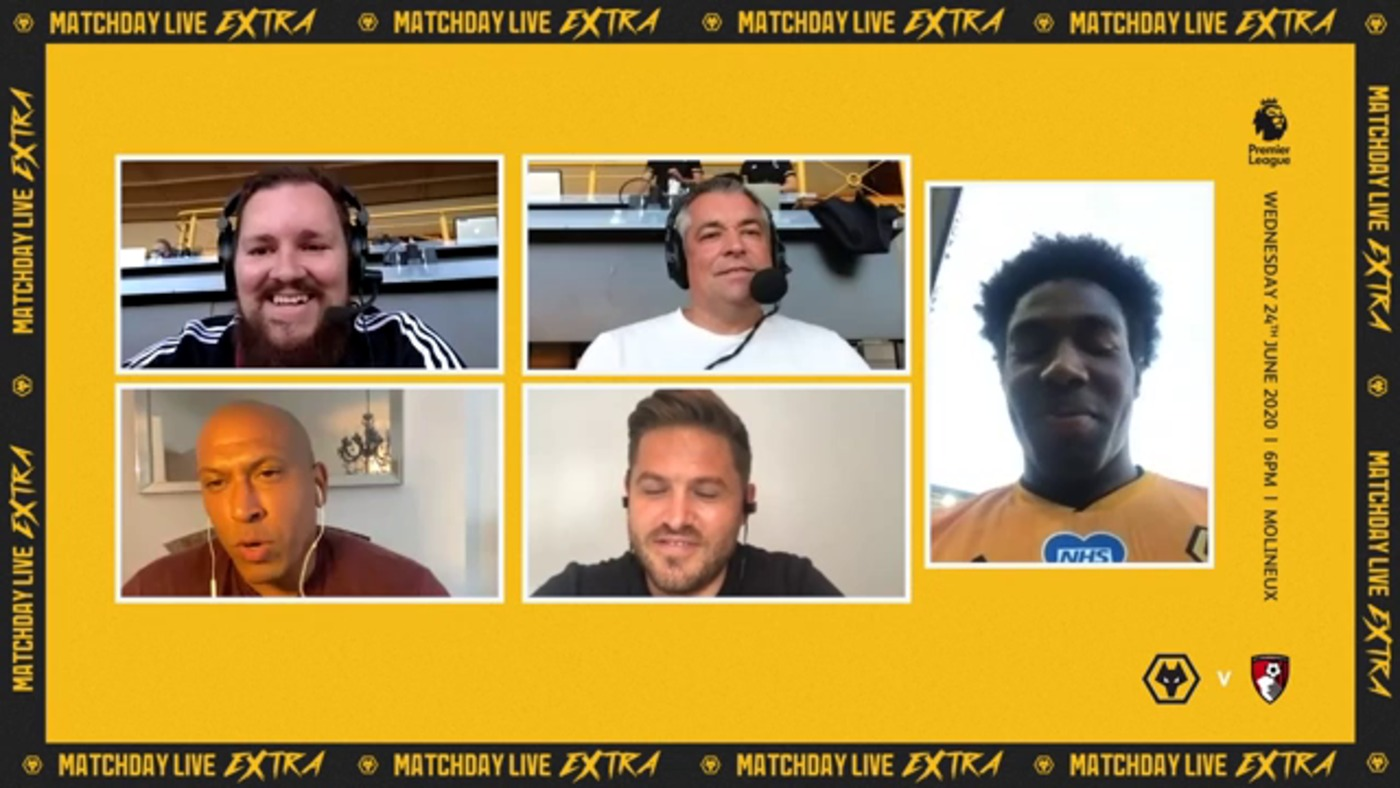 Adama Traore talks his partnership with Raul Jimenez on Matchday Live Extra