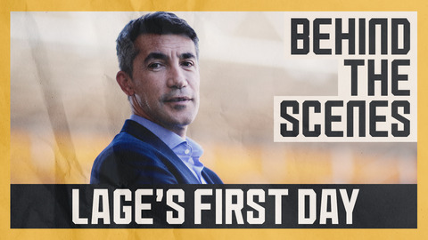 BRUNO LAGE'S FIRST DAY | New head coach visits training ground and Molineux