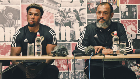 Press Conference | Nuno and Adama Traore meet the media at Crusaders' stadium