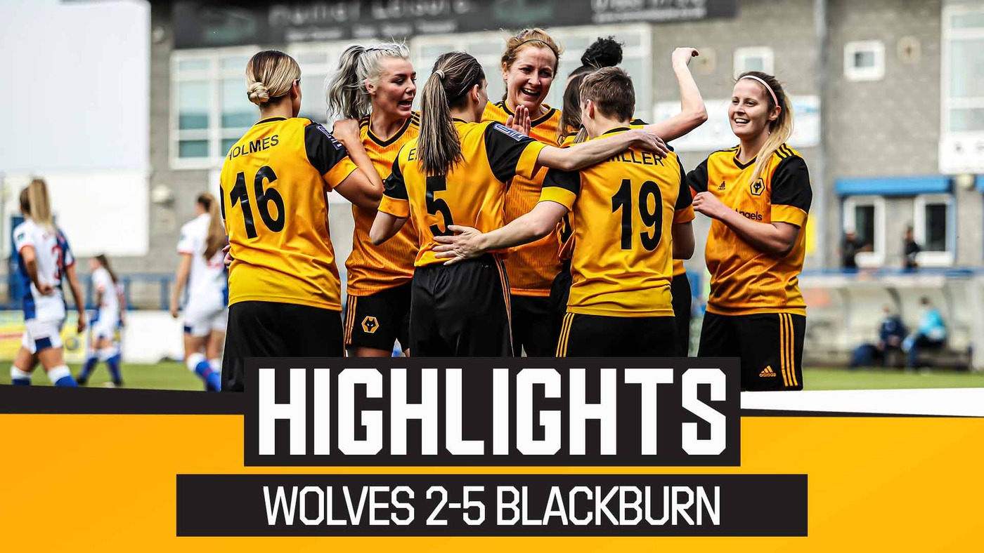Historic cup-run finally ends for brave Wolves | Wolves Women 2-5 Blackburn Rovers | FA Cup Highlights
