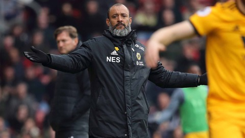 Disappointed Nuno on Southampton defeat