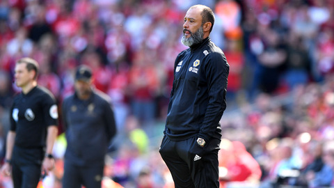 Nuno assesses final day defeat at Anfield