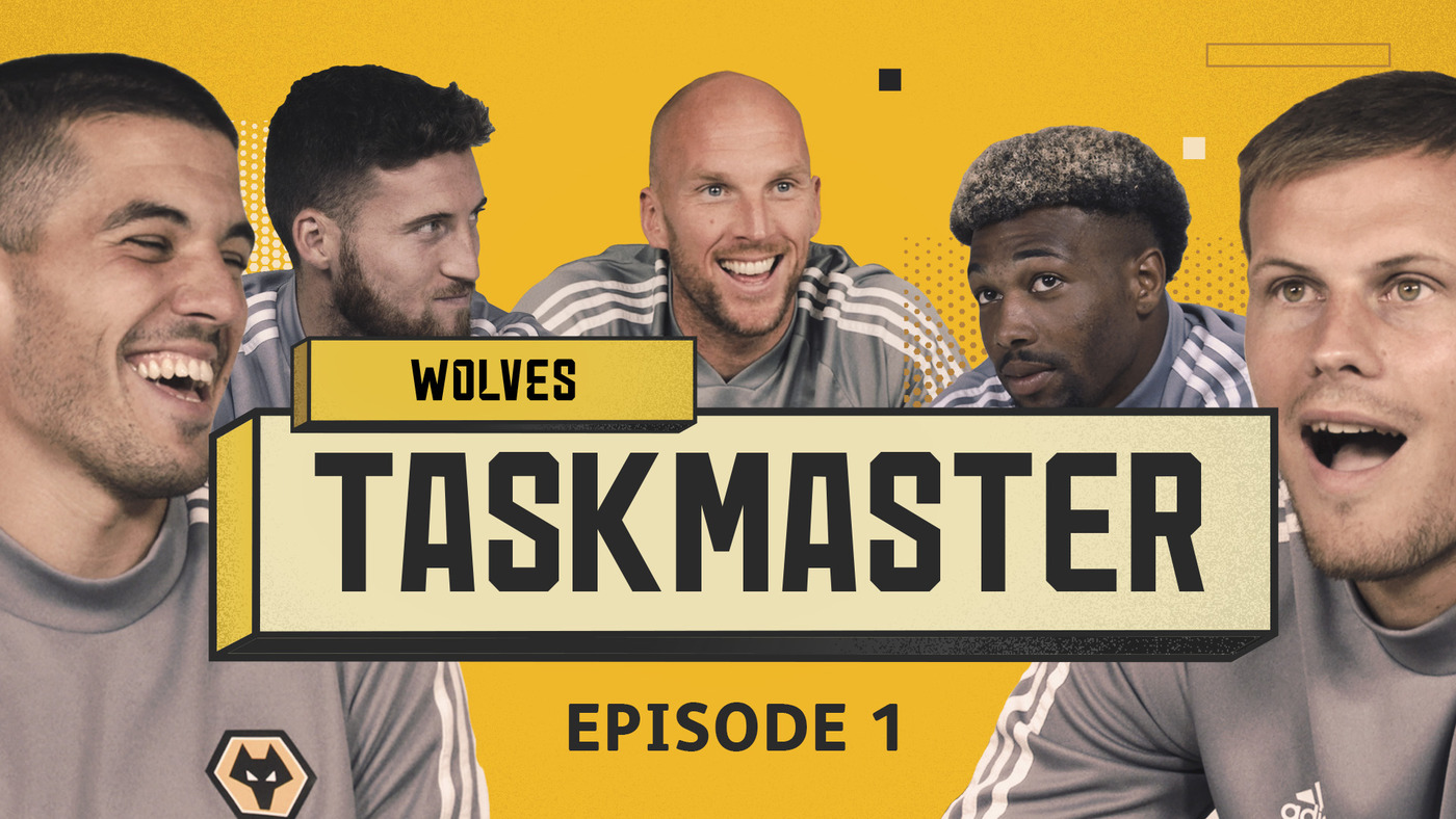 WOLVES TASKMASTER | EPISODE 1 | 'STAND UP AFTER 100 SECONDS'