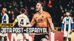 Hat-trick hero Jota on a dominant win against Espanyol and Neves' wonderstrike!
