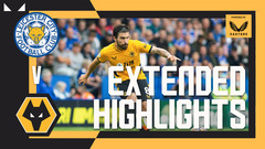Lage's Wolves fall short despite second-half fightback | Leicester City 1-0 Wolves | Extended Highlights