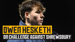 Hesketh wants more self-belief from under-21s