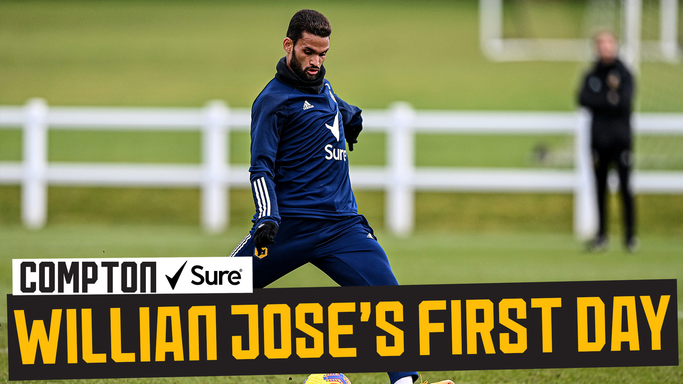 Behind the scenes of Willian Jose's first day and training session