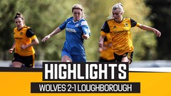 Holmes hands Wolves victory over Foxes! | Wolves Women 2-1 Loughborough Foxes | Highlights