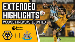 Wolves 1-1 Newcastle United | Extended Highlights