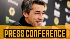 Bruno's pre-Man United press conference