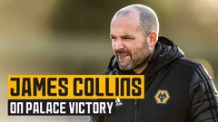 Collins pleased to return to PL2 action with Crystal Palace victory