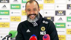Nuno's pre-Cardiff City press conference