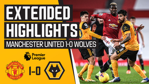 2020 ends in defeat | Manchester United 1-0 Wolves | Extended Highlights