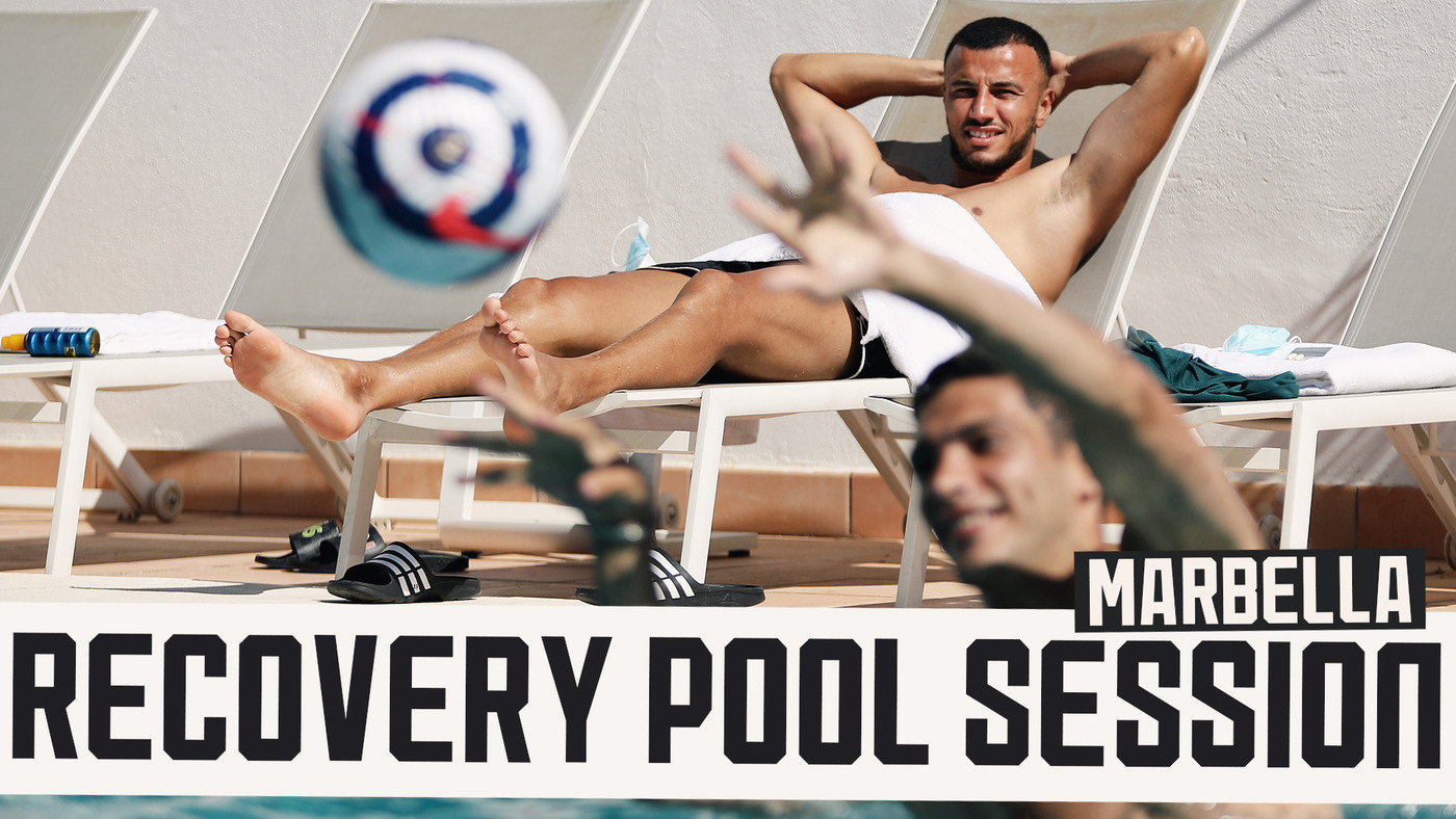 Head Tennis, Volleyball & Water Aerobics | Match recovery in the pool!