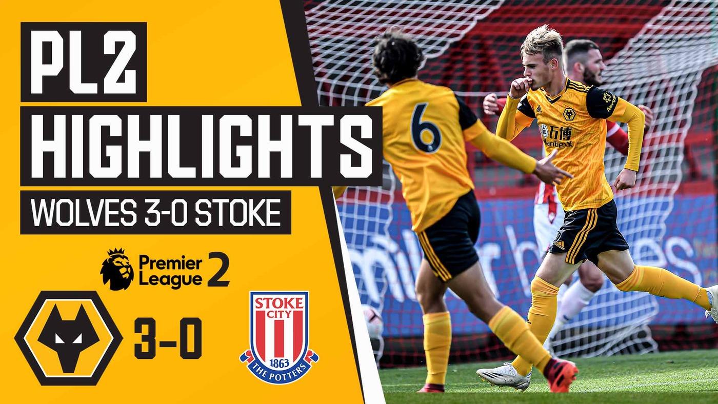 Stunning Taylor Perry brace! | Wolves U23 3-0 Stoke City