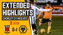 Vitinha stunner sends us into the next round! | Chorley 0-1 Wolves | FA Cup Highlights