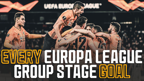 Strikes from Jimenez, Traore, Jota and Boly! | Every Wolves Europa League group stage goal