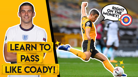 PASS WITH PINPOINT ACCURACY LIKE CONOR COADY!   Improve your accuracy and range!