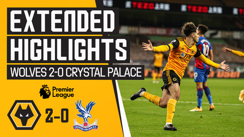 Podence back on the scoresheet! | Wolves 2-0 Crystal Palace | Extended highlights
