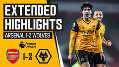Our first ever win at the Emirates Stadium | Arsenal 1-2 Wolves | Extended Highlights