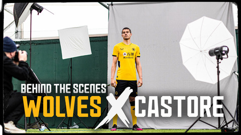 Behind the scenes of the new Castore home kit launch!