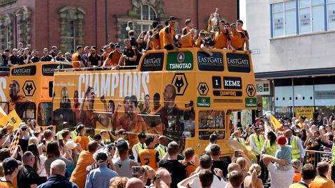 Champions Bus Parade
